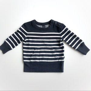 Baby Gap striped sweatshirt
